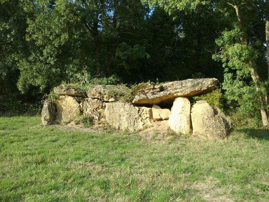 Dolmen de la Grosse Pierre (Beaumont-en-Véron)