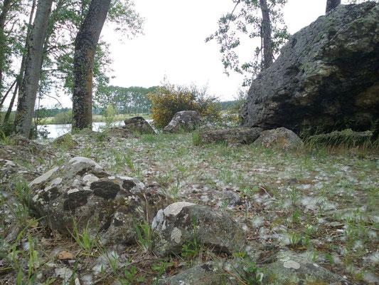 Dolmen de la Pierre Levée de Confluent (Yzeures-sur-Creuse)