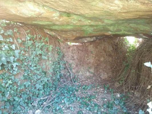 Dolmen dit la Pierre de Tartahuiche (Taizé)