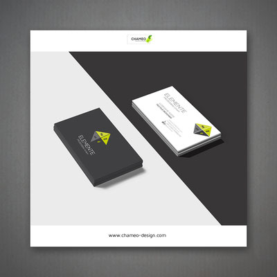logo and branding design business cards