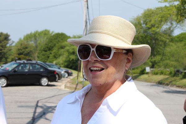 Joan Paquette.  Photograph taken by Carolyn