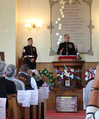 Lieutenant Colonel Jason Borovies, Guest Speaker