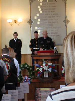 Robert Lancia, Chaplain Lieutenant Commander, USN (Ret)