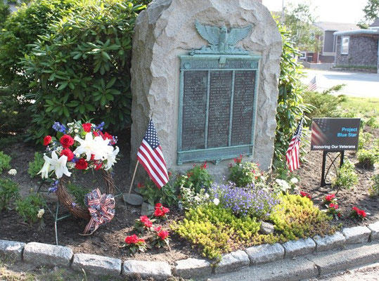 World War I Monument at the Portsmouth Twon Hall, Portsmouth, RI