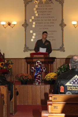 Staff Sergeant Jonathan Porto. USMC