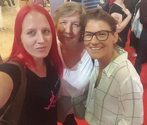 mit Mama Donavan und Daniela Hartig