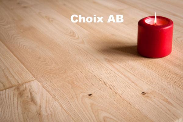 parquet châtaignier massif choix AB