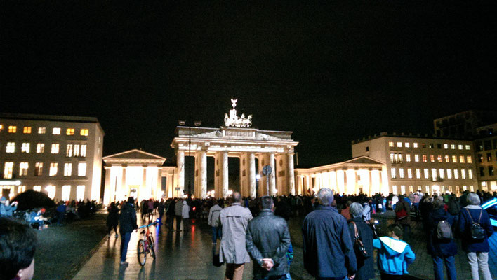Lichtershow am Brandenburger Tor (Berlin)