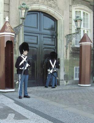 Kopenhagen vor dem Schlosstor