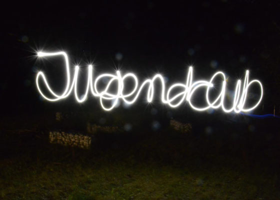 Lightpainting – Fotoexperimente bei der Clubnacht