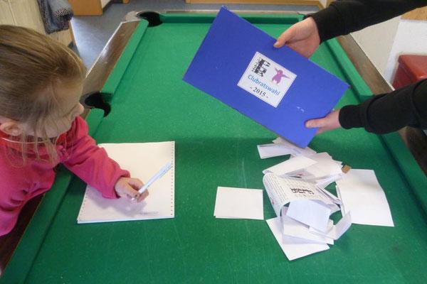 Clubratswahl - Das Wahlkomitee bei der Arbeit