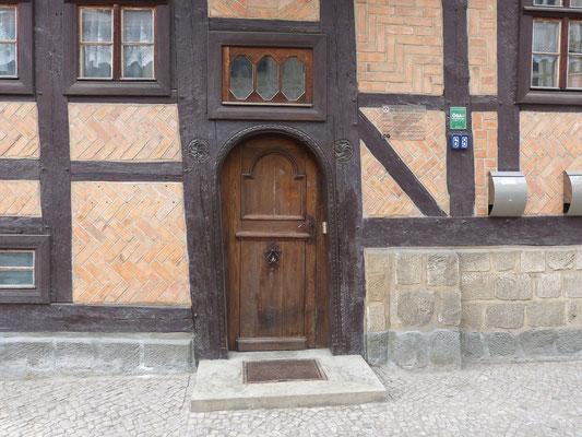 Hauseingang (Steinweg 68 / Quedlinburg)