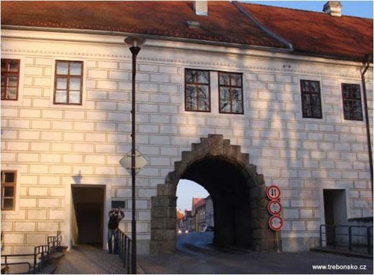 Budějovická brána in Třeboň