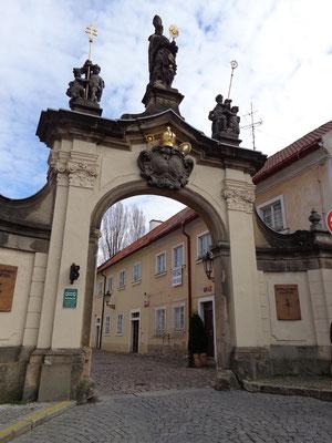 Kloster Strahov - Eingang