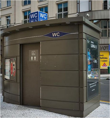 WC in Prag