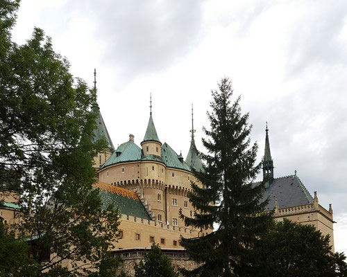 Schloss Bojnice in der Slowakei
