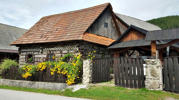 Dorf Cicmany Slowakei