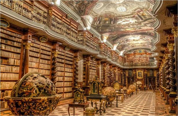 Prager Clementinum - Bibliothek