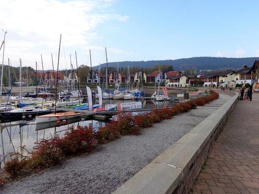 Hafen in Lipno