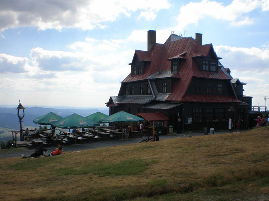 Hotel auf dem Radhošť