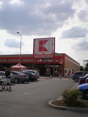 Supermarkt Tschechische Grenze