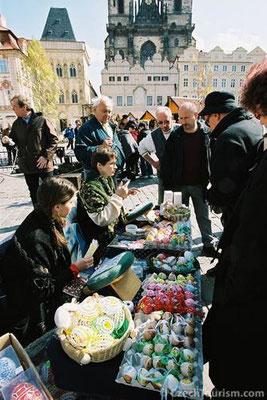 Osternmarkt in Prag