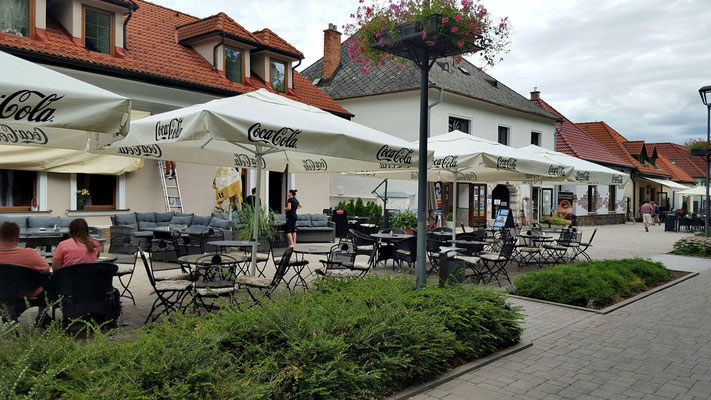 Städchen Bojnice in der Slowakei