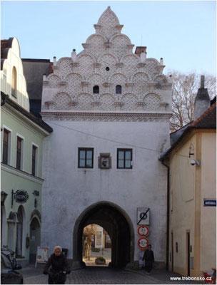 Svinenská brána in Třeboň