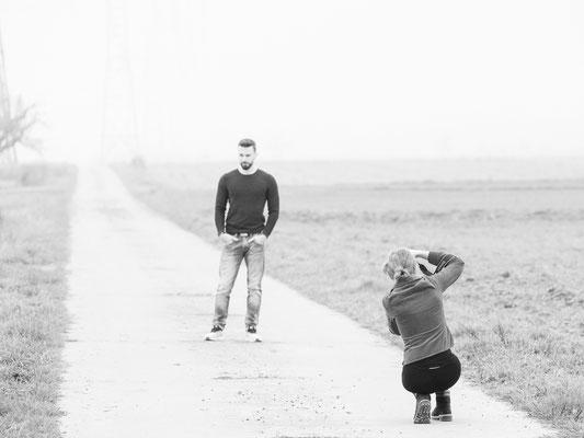 Männerfotoshooting Männer Portraits Fotografin Talia Fotoshooting für Männer Men's only Portraitart Männerportrait Studio & Outdoor  Backstageaufnahmen