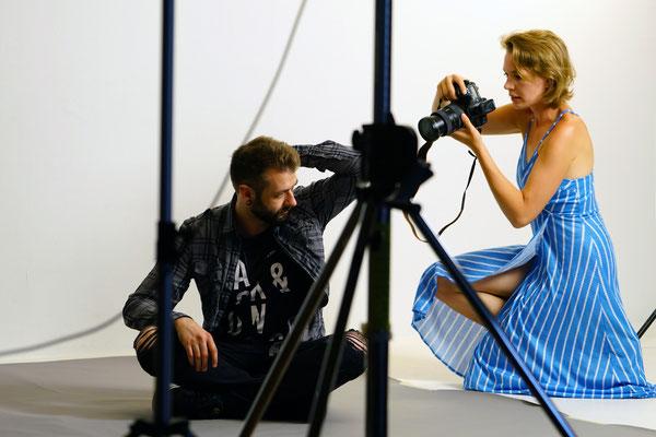 Fotoshooting für Männer Fotografin Talia  Männerportraits