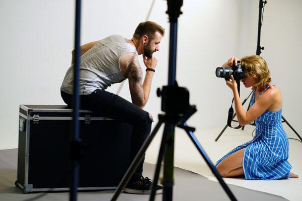 Männerportraits Fotografin Fotoshooting für Männer