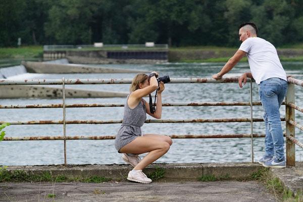 Männerportraits Fotoshooting für Männer  Aktfotoshooting - Backstage Fotografin Talia Männerfotos