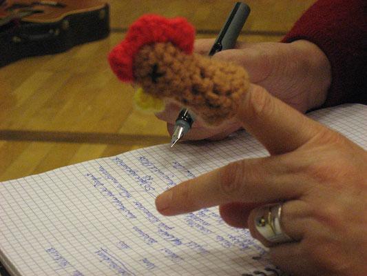 kleine Schreibübungen in der Erzählakademie Goldmund