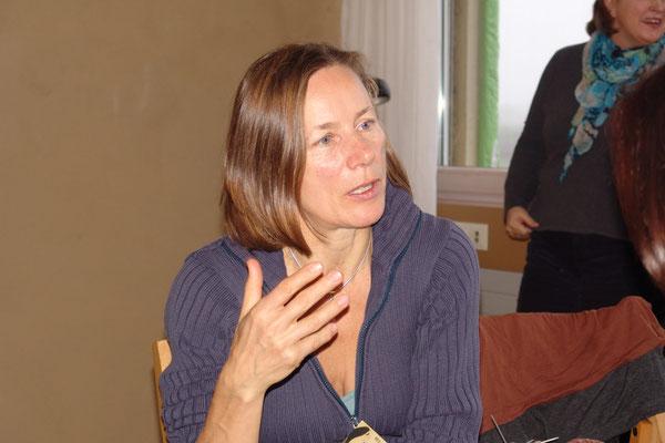 Karolina Seibold in der Goldmund Erzählakademie