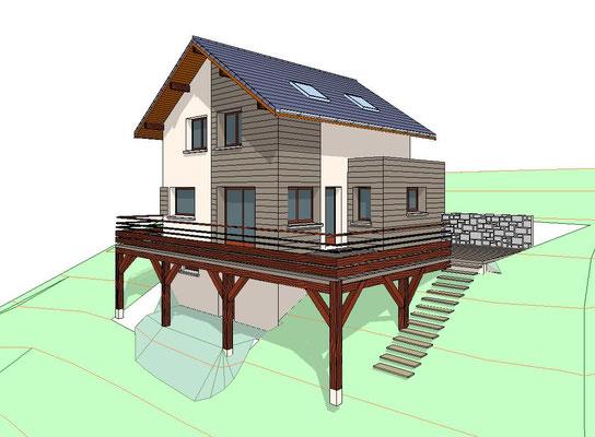 Construction Maison individuelle à Hurtières