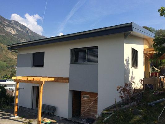 Rénovation de toiture et ITE Laine de bois