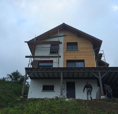Suivi de chantier d'une maison individuelle à Hurtières