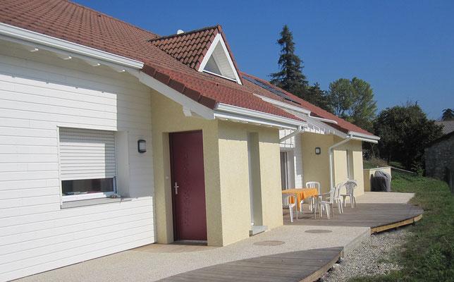 Création d'une suite parentale dans une maison située à La Terrasse en Isère