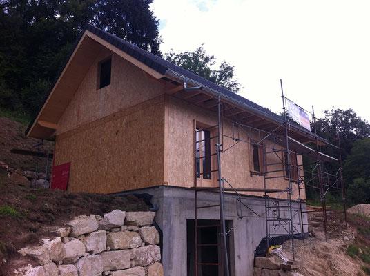 Construction Maison Ossature Bois à Saint Pierre de Chartreuse