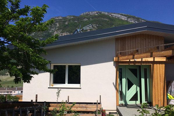 Création de pergolas pour une maison à Montmélian