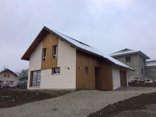 Livraison Maison ossature bois - grésivaudan