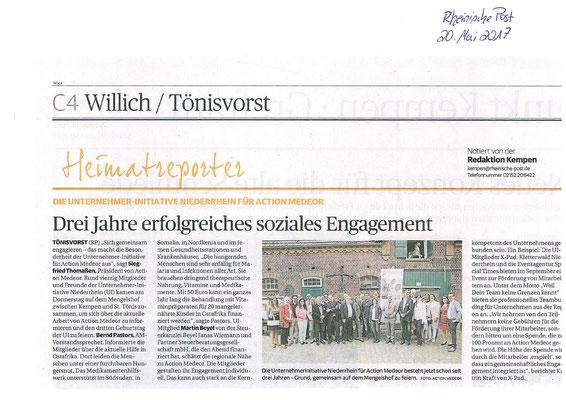 Artikel aus der Rheinischen Post