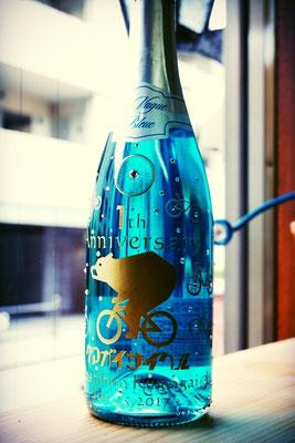 開店祝い プレゼント ワイン シャンパン ボトル オリジナル ロゴ入り ノベルティ オーダーメイド 格安 製作 名入れ 彫刻