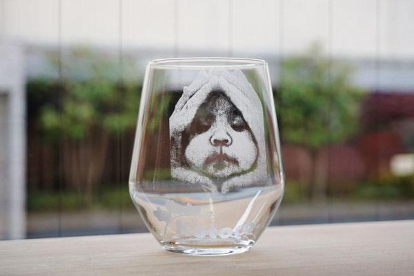 オリジナル グラス コップ 写真 名前 名入れ ロゴ プレゼント 敬老の日 格安 ノベルティ 販促 記念品 サプライズ  オーダーメイド