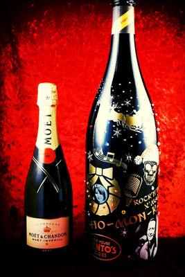 ダブルマグナム ワイン シャンパン オリジナル ボトル ロゴ 名入れ 写真 ラベル おしゃれ プレゼント サプライズ 格安 記念品 ノベルティ