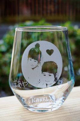 オリジナル グラス オーダーメイド 写真 そのまま ジョッキ プレゼント ノベルティ 格安 世界で1つ 名入れ おしゃれ 名前 オーダー