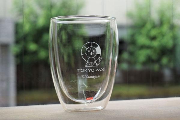 ボダム ダブルウォール 写真 犬 猫  彫刻  グラス コップ オリジナル ロゴ 名前 名入れ 記念品 安い 東京 業務用 店舗用 ノベルティ