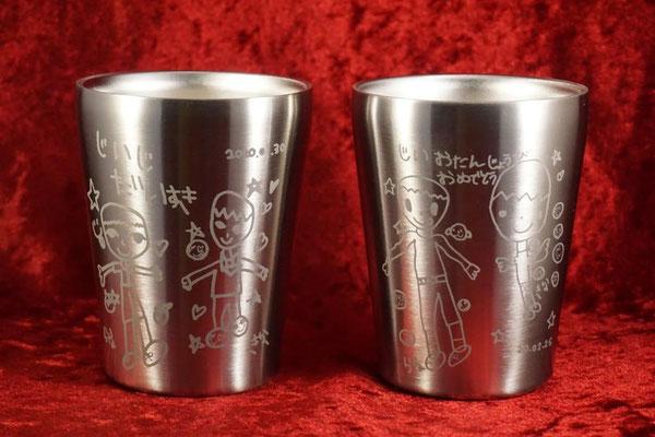 ステンレス サーモス マグ オリジナル グラス 名入れ 名前 ロゴ おしゃれ 格安 ノベルティ 販促 記念品 タンブラー 東京 オンリーワン