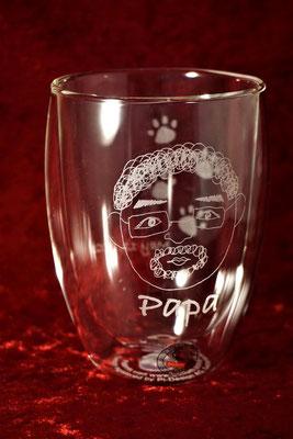 オリジナル グラス ボダム ダブルウォール コップ 名前 名入れ ロゴ おしゃれ 安い 写真 記念品 ノベルティ 業務用 店舗用 東京