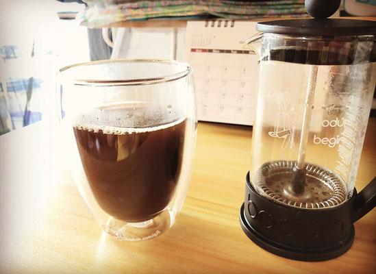 Bodum フレンチプレス ダブルウォール Begin コーヒー おしゃれ 名入れ ボダム 格安 東京 ノベルティ グッズ 記念品 アトリエ・エノン 販促 ギフト